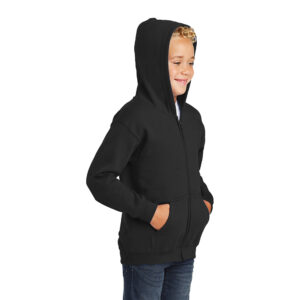 Gildan® Youth Heavy Blend™ Full-Zip Hooded Sweatshirt