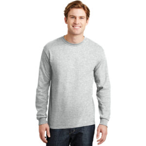 DryBlend® 50 Cotton/50 Poly Long Sleeve T-Shirt.